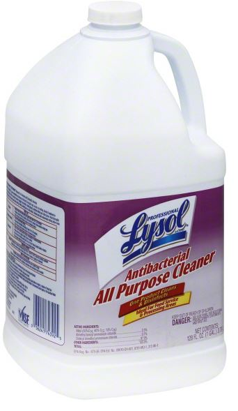 Professional LYSOL® Antibacterial All Purpose Cleaner - Dilutable